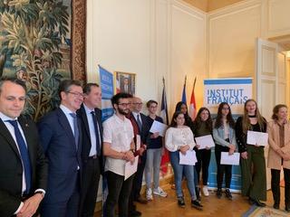 Le LGK remporte le prix de la francophonie