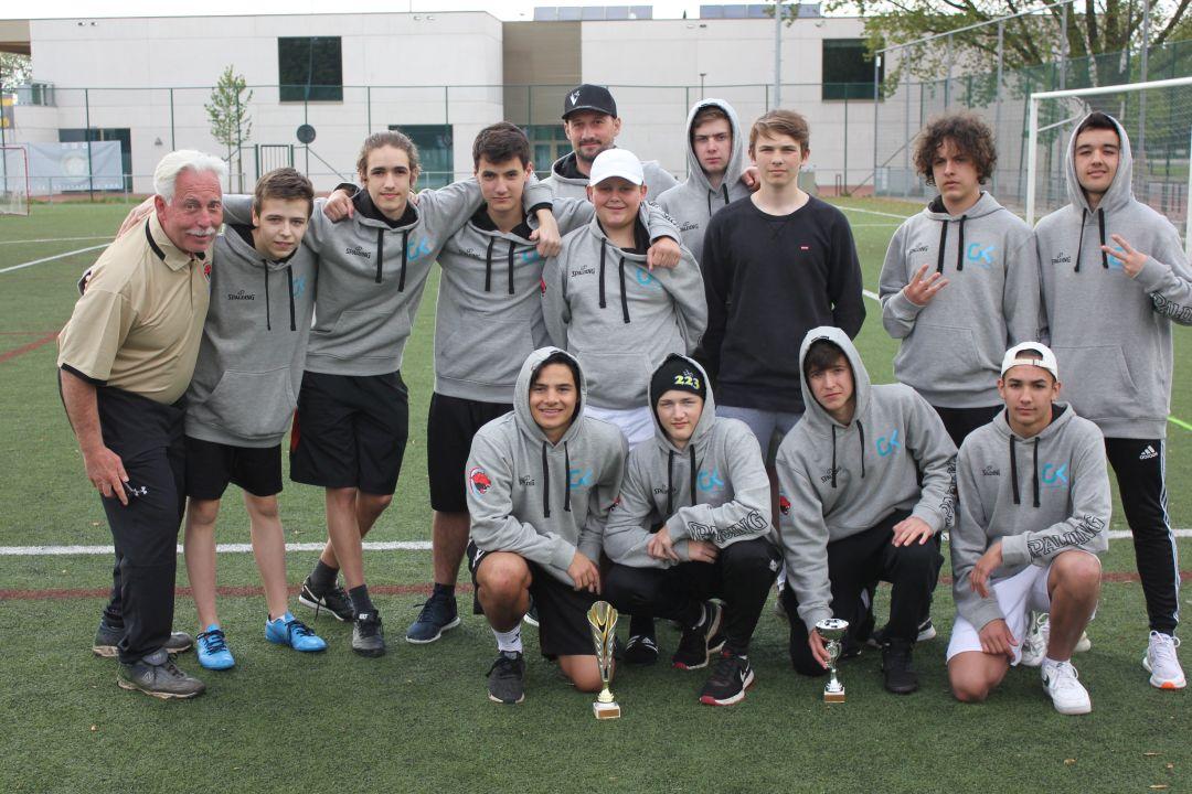 Victoire de l'équipe LGK-Lacrosse au tournoi de Machelen