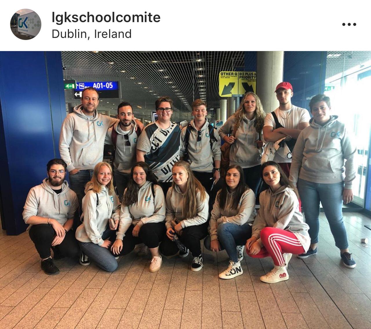 Le comité des élèves du LGK à Dublin
