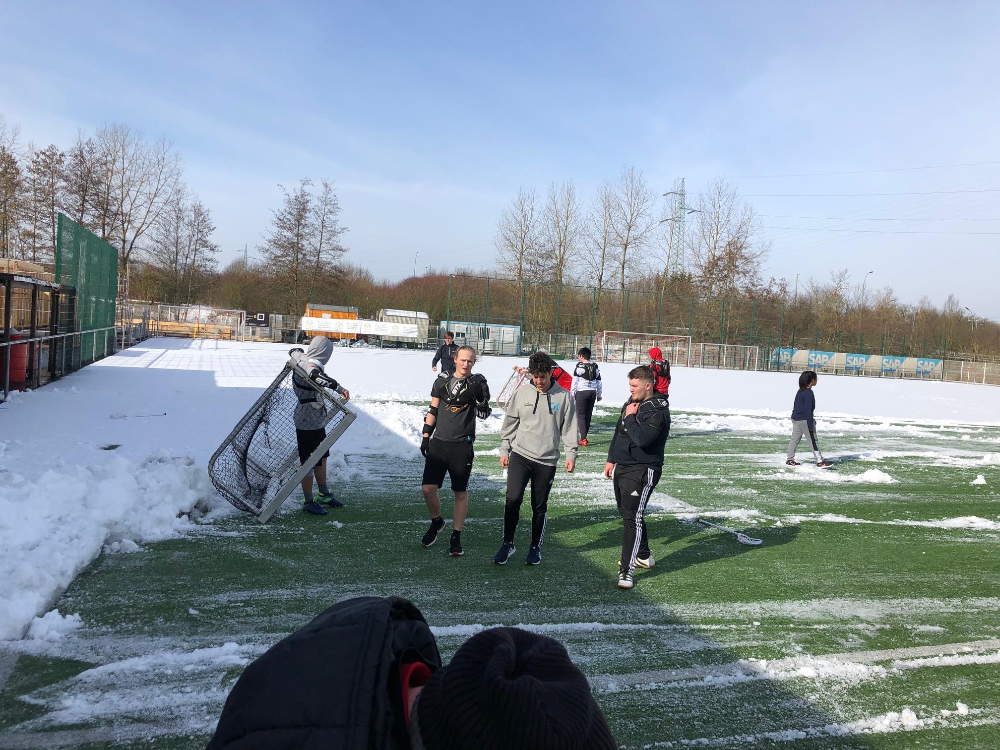 Entraînement Lacrosse du LGK