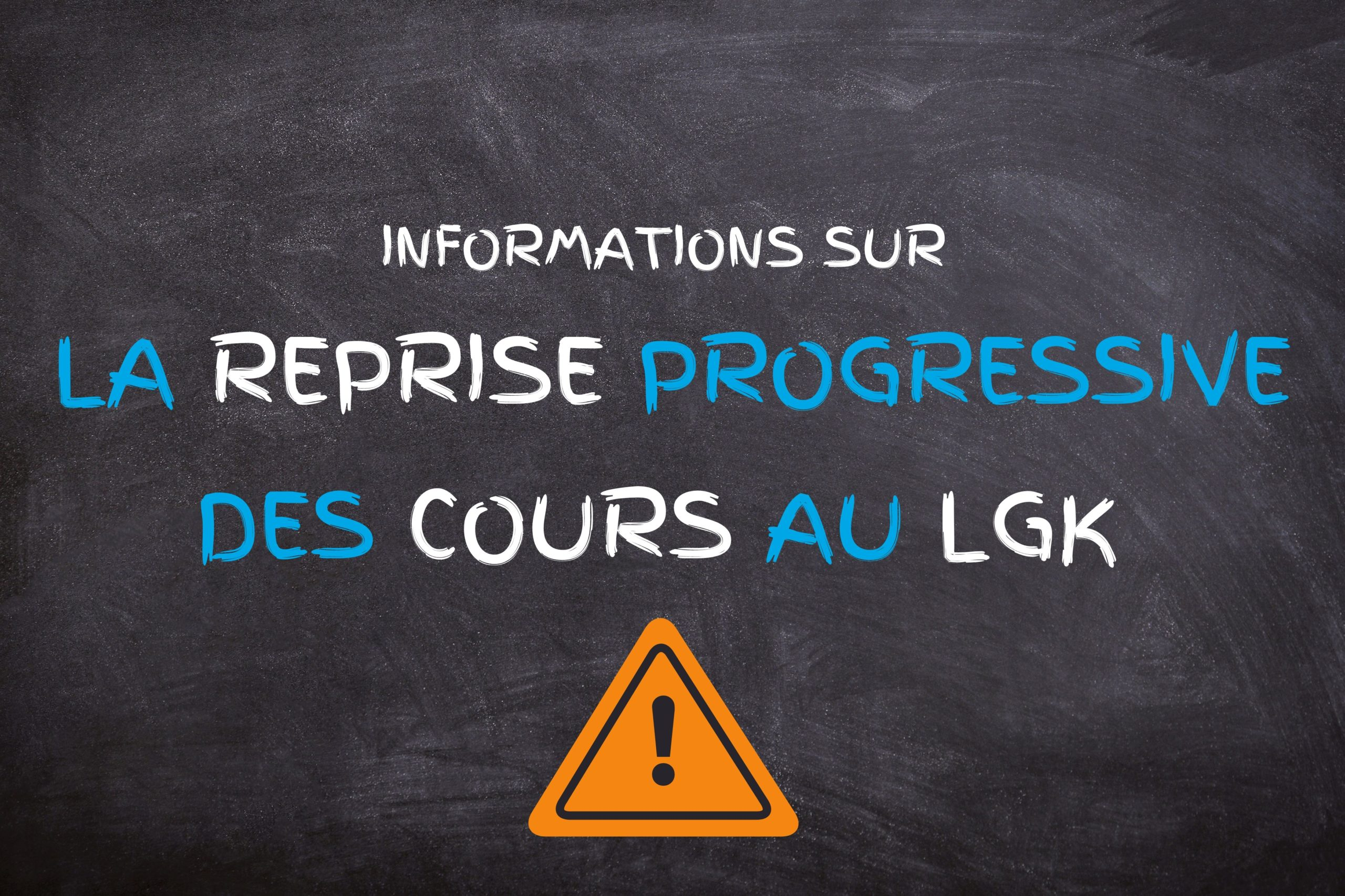 05/05/2020: Communication du LGK (COVID-19)