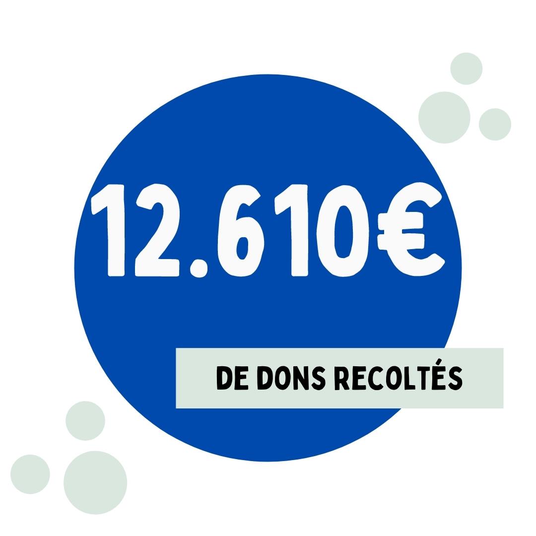 12610€ de dons recoltés par le LGK